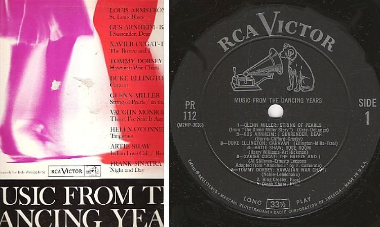 "Various Artists / Music From the Dancing Years (1961) / RCA Victor PR-112 (Album, 12"" Vinyl)"