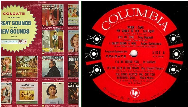 "Various Artists / Great Sounds and New Sounds (1960) / Columbia XTV-62320-62321 (Album, 12"" Vinyl)"