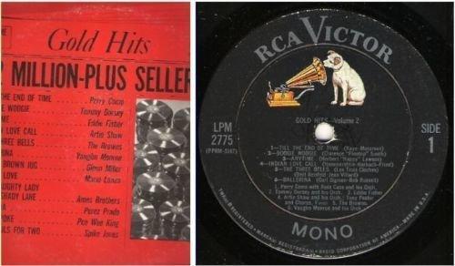 "Various Artists / Gold Hits - Volume 2 (1963) / RCA Victor LPM-2775 (Album, 12"" Vinyl)"