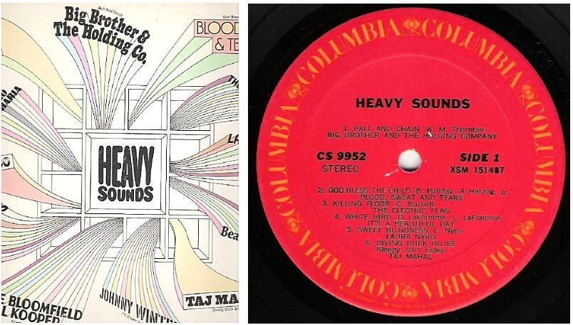 "Various Artists / Heavy Sounds (1970) / Columbia CS-9952 (Album, 12"" Vinyl)"