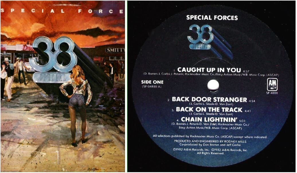 "38 Special / Special Forces (1982) / A+M SP-4888 (Album, 12"" Vinyl)"
