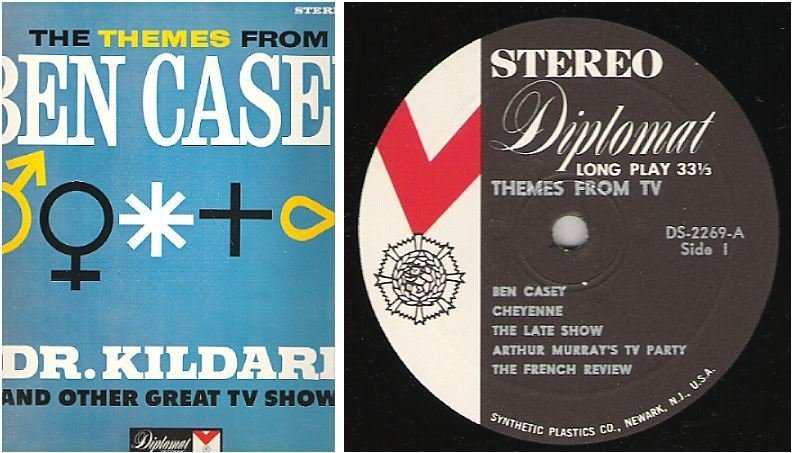 "Uncredited Artists / Themes From TV (1962) / Diplomat DS-2269 (Album, 12"" Vinyl)"
