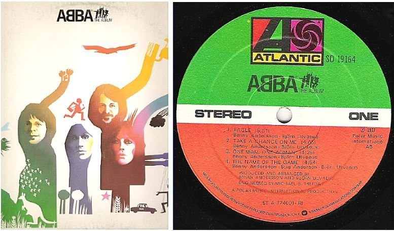 "Abba / The Album (1977) / Atlantic SD-19164 (Album, 12"" Vinyl)"
