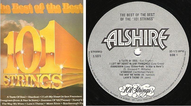 """101 Strings / The Best of the Best of 101 Strings (1979) / Alshire S-5373 (Album, 12"""" Vinyl)"""