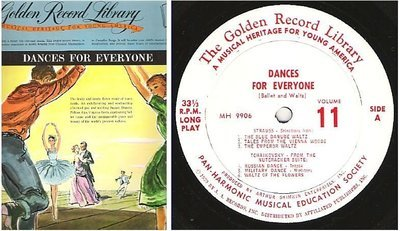 Various Artists / Dances for Everyone, Album 11 (1959) / Golden MH-9906 (Album, 12