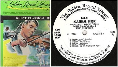 Various Composers / Great Classical Music - Volume 3 (1959) / Golden MH-9903 (Album, 12