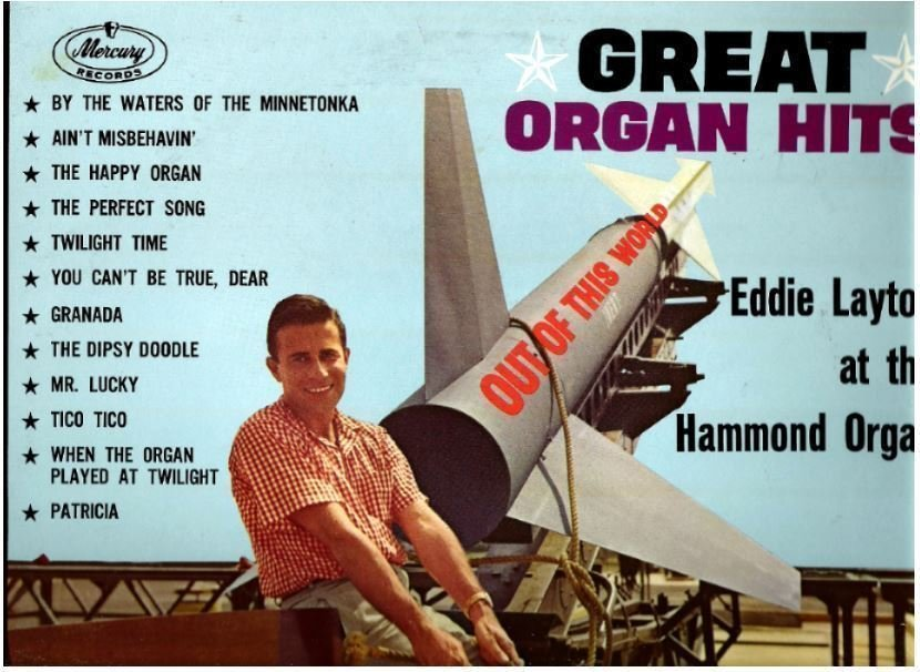 "Layton, Eddie / Great Organ Hits (1961) / Mercury MG-20639 (Album, 12"" Vinyl) / Promo"