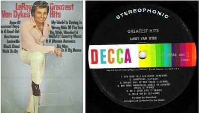 Van Dyke, LeRoy / Greatest Hits (1972) / Decca DL-75346 (Album, 12