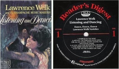 Welk, Lawrence / Listening and Dancing (1968) / Reader's Digest RDA-59 (Album, 12