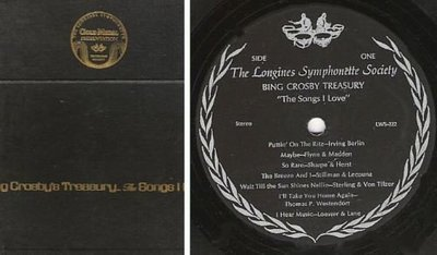 Crosby, Bing / Bing Crosby's Treasury - The Songs I Love / The Longines Symphonette Society LWS 218-223 (Album, 12