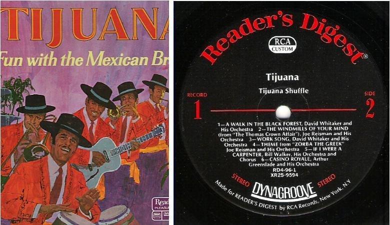 "Various Artists / Tijuana - Fun With the Mexican Brass (1971) / Reader's Digest RDA 96-A (Album, 12"" Vinyl) / 5 LP Box Set"
