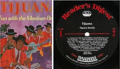 Various Artists / Tijuana - Fun With the Mexican Brass (1971) / Reader's Digest RDA 96-A (Album, 12