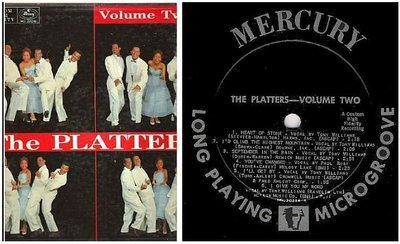 Platters, The / Volume Two (1956) / Mercury MG 20216 (Album, 12