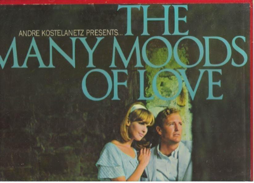 "Kostelanetz, Andre / The Many Moods of Love (1966) / Columbia Musical Treasuries DS-200-206 (Album, 12"" Vinyl) / 7 LP Box Set"