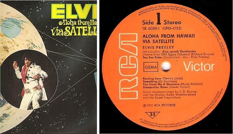 "Presley, Elvis / Aloha From Hawaii Via Satellite (1973) / RCA Victor SR-6089 (Album, 12"" Vinyl) / 2 LP Set / Germany"