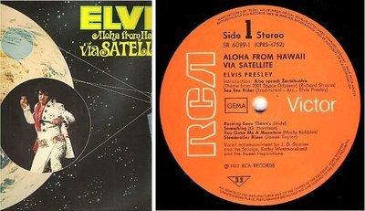 Presley, Elvis / Aloha From Hawaii Via Satellite (1973) / RCA Victor SR-6089 (Album, 12