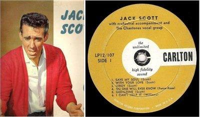 Scott, Jack / Jack Scott (1959) / Carlton LP12/107 (Album, 12