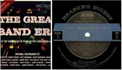 Various Artists / The Great Band Era 1936-1945 (1964) / Reader's Digest RD 25-K (Album, 12