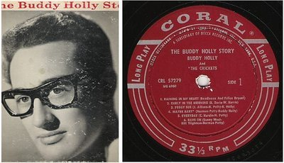 Holly, Buddy (+ The Crickets) / The Buddy Holly Story (1959) / Coral CRL-57279 (Album, 12