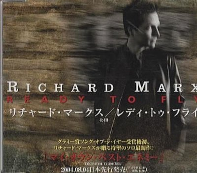 Marx, Richard / Ready to Fly (2004) / EMI PCD-2972 / Japan, Promo (CD Single)