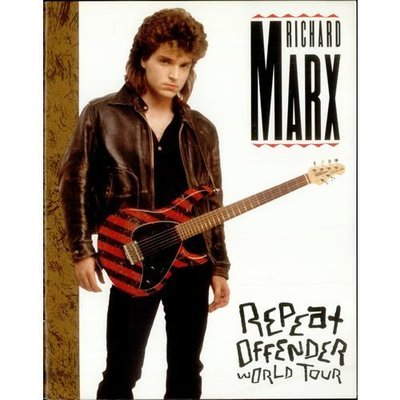 Marx, Richard / Repeat Offender (1990) / World Tour / USA (Tour Book)