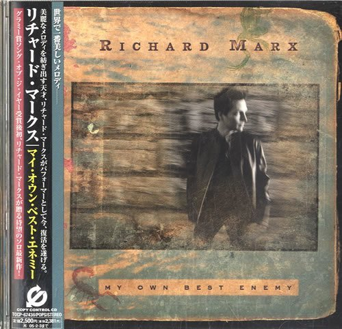 Marx, Richard / My Own Best Enemy (2004) / EMI TOCP-67436 / Promo, Japan (CD)