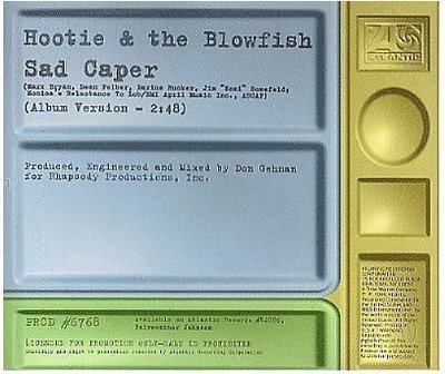 Hootie + The Blowfish / Sad Caper (1996) / Atlantic PRCD-6768 (CD Single, Promo)