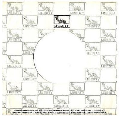 Liberty / Repeating Pattern (1980) / White-Gray-Black (Record Company Sleeve, 7