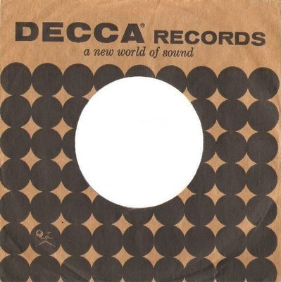 Decca / A New World of Sound / Brown-Black (Record Company Sleeve, 7