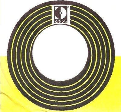 Decca / MCA Records, Inc., 1972 / Printed in U.S.A. (1972) / White-Yellow-Black (Record Company Sleeve, 7