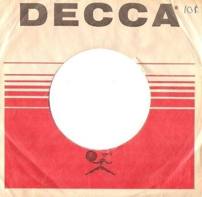 Decca / New Mono and Stereo - DECCA - albums you'll want to own / White-Red-Black (Record Company Sleeve, 7