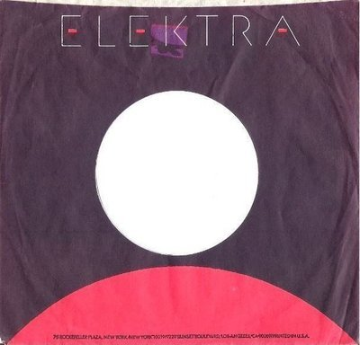Elektra / Black, Red, White (Record Company Sleeve, 7