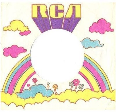 RCA / White, Yellow, Purple, Pink, Blue (1971) (Record Company Sleeve, 7