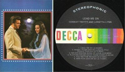 Twitty, Conway (+ Loretta Lynn) / Lead Me On (1971) / Decca ST-94325 (Album, 12