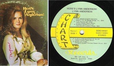 Anderson, Lynn / Here's Lynn Anderson (1972) / Chart SQBO-94001 (Album, 12