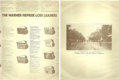 Warner Bros. / The Warner-Reprise Loss Leaders (1974) (Record Company Inner Sleeve, 12
