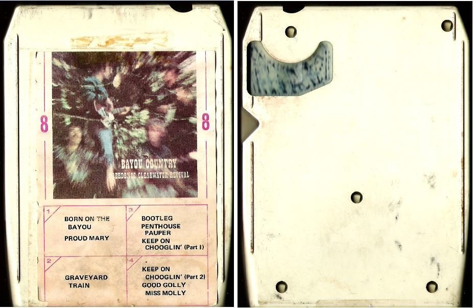Creedence Clearwater Revival / Bayou Country (1969) / Fantasy FAM-88387 (8-Track Tape)