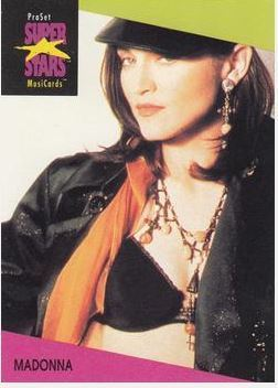 Madonna / ProSet SuperStars MusiCards #69 | Music Trading Card (1991)