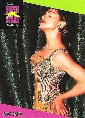 Madonna / ProSet SuperStars MusiCards #66 | Music Trading Card (1991)