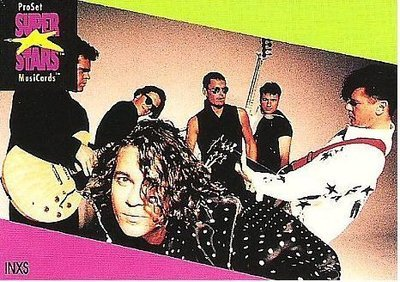 INXS / ProSet SuperStars MusiCards #55 | Music Trading Card (1991)