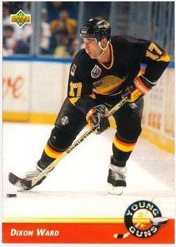 Ward, Dixon / Vancouver Canucks (1992-93) / Upper Deck #580 (Hockey Card) / Young Guns Series