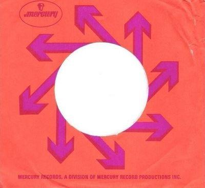 Mercury / Arrow Artwork / Orange-Purple (Record Company Sleeve, 7