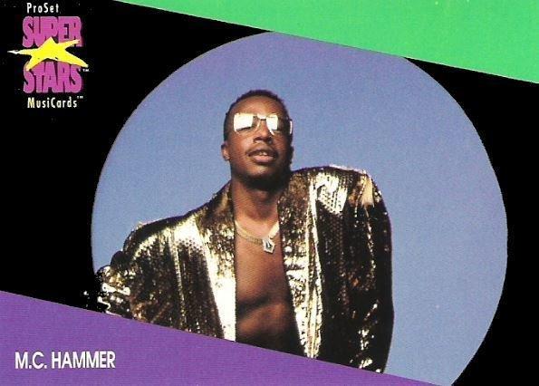 Hammer, M.C. / ProSet SuperStars MusiCards (1991) / Card #126 (Trading Card)