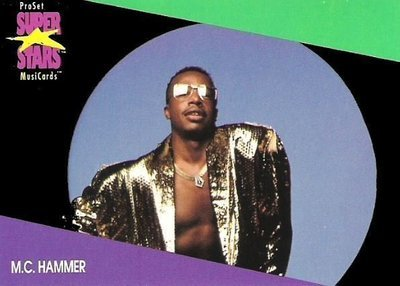 Hammer, M.C. / ProSet SuperStars MusiCards (1991) / Card #126 (Trading Card)