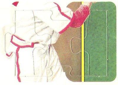 Musial, Stan / St. Louis Cardinals (1988) / Donruss Puzzle Card / Pieces 43, 44 + 45 (Baseball Card)