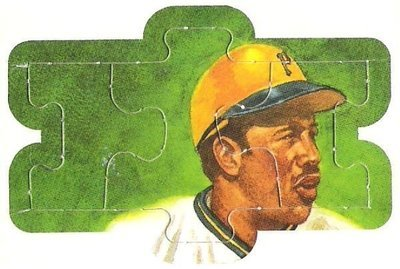 Stargell, Willie / Pittsburgh Pirates | Leaf #13-14-15 | Baseball Trading Card | 1991 | Puzzle Card | Hall of Famer