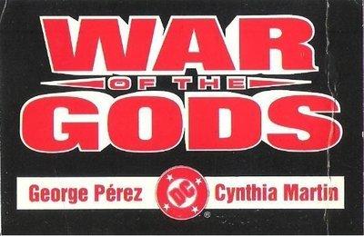 War of the Gods / DC Comics Promo (1991) / George Perez, Cynthia Martin (Trading Card)