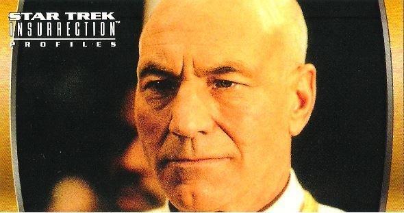 Star Trek: Insurrection / Captain Jean-Luc Picard (1998) / Fleer #52 (Trading Card)