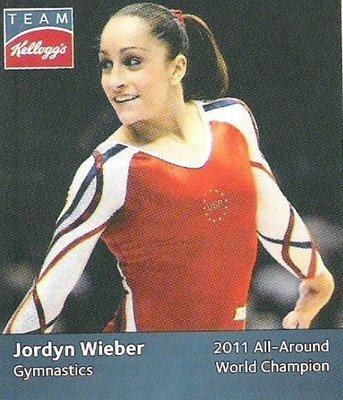 Wieber, Jordyn / USA Olympic Team (2012) / Gymnastics (Trading Card)
