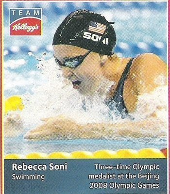 Soni, Rebecca / USA Olympic Team (2012) / Swimming (Trading Card)